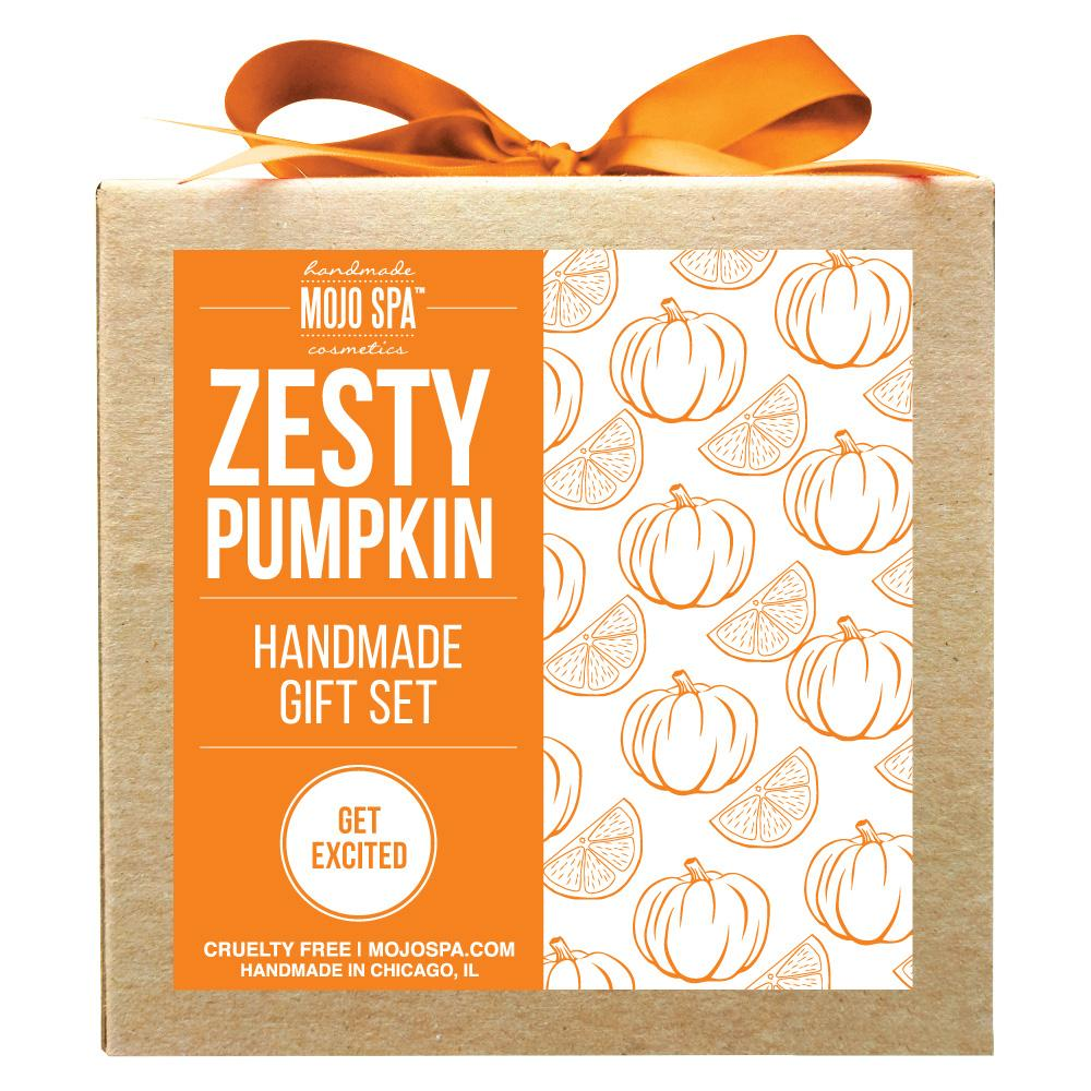 Zesty Pumpkin Scrub & Lotion Gift Set Product
