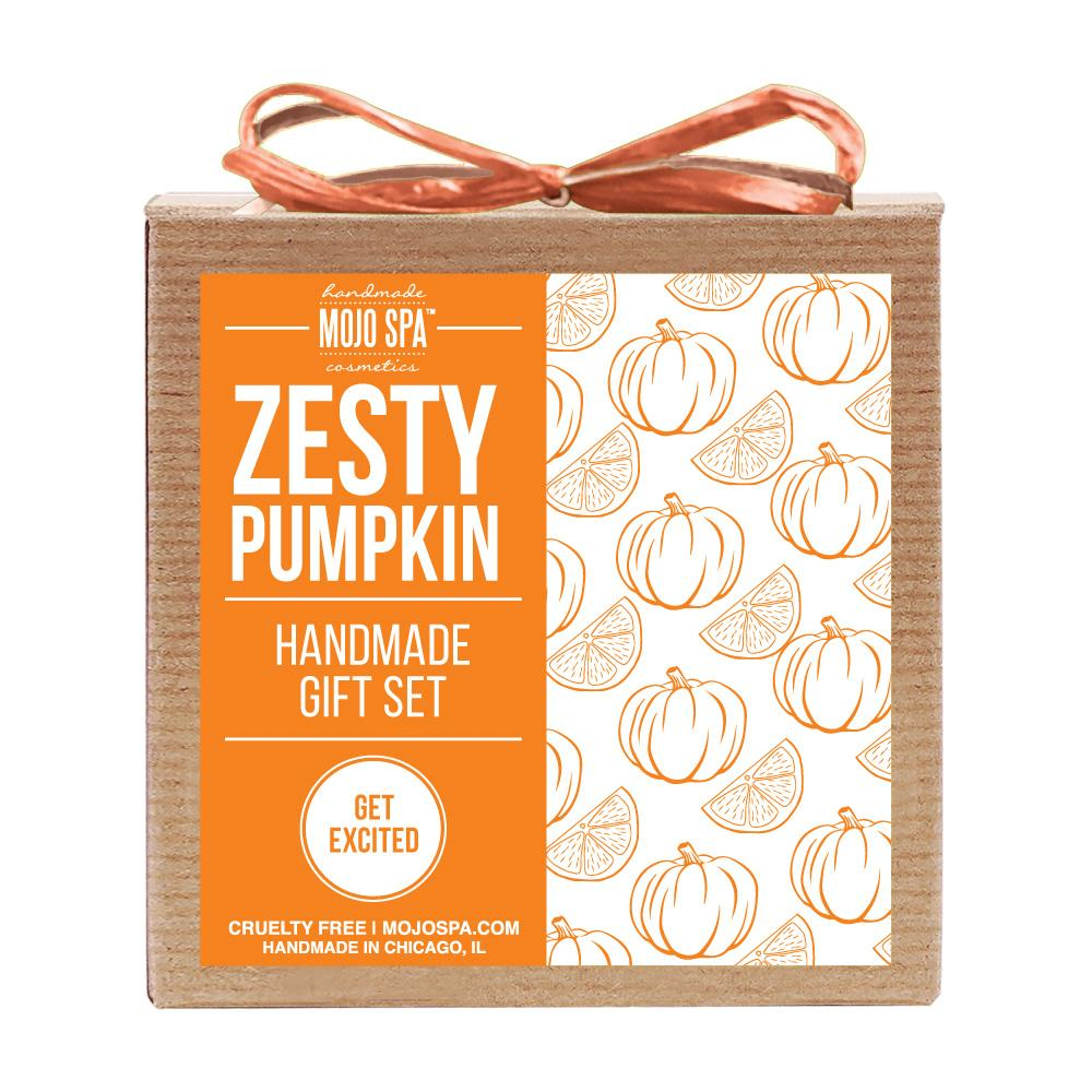 Zesty Pumpkin Scrub & Soap Gift Set Product