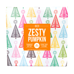 Zesty Pumpkin Scrub, Lotion & Soap Gift Set