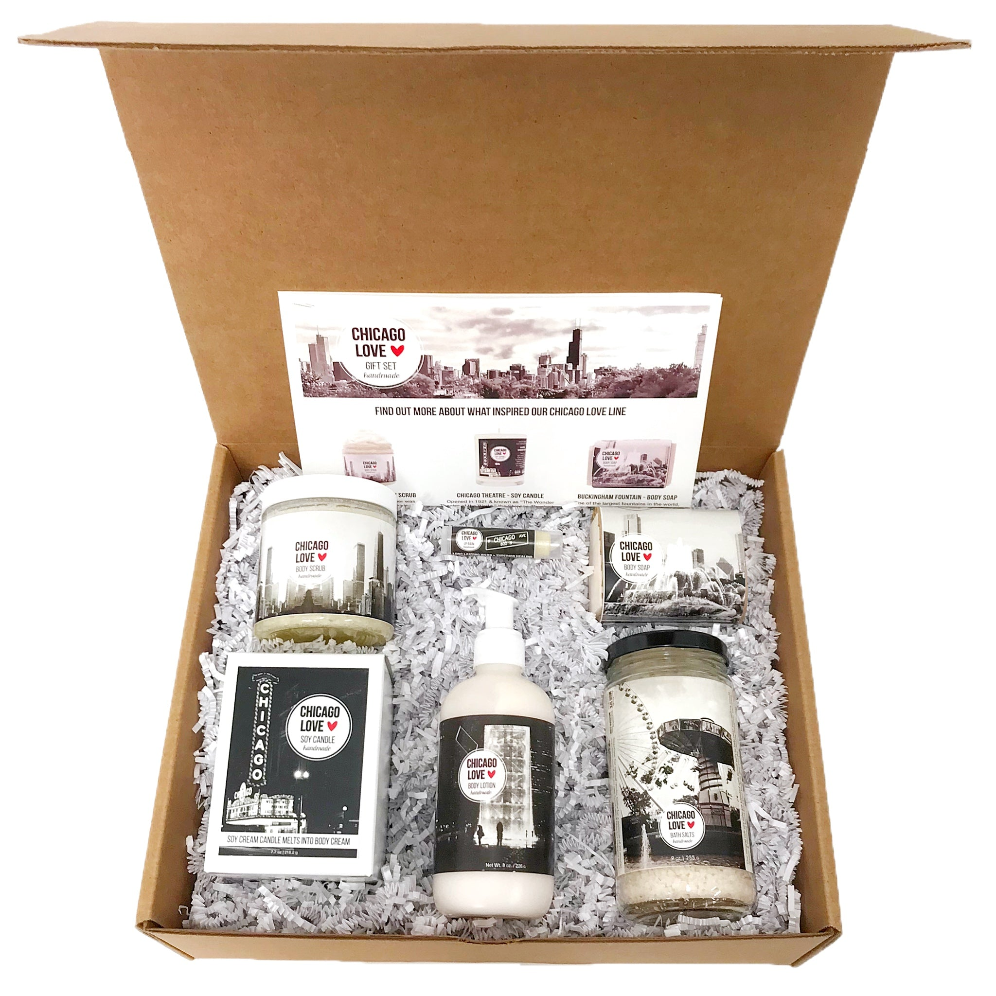 Chicago Love Large Gift Set