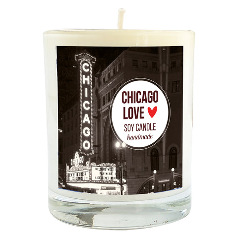 Chicago Love Soy Massage Candle