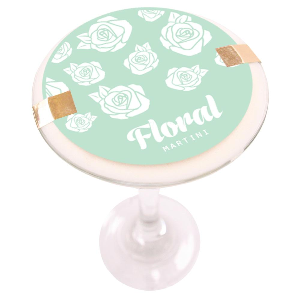 Floral Martini Soy Massage Candle Product