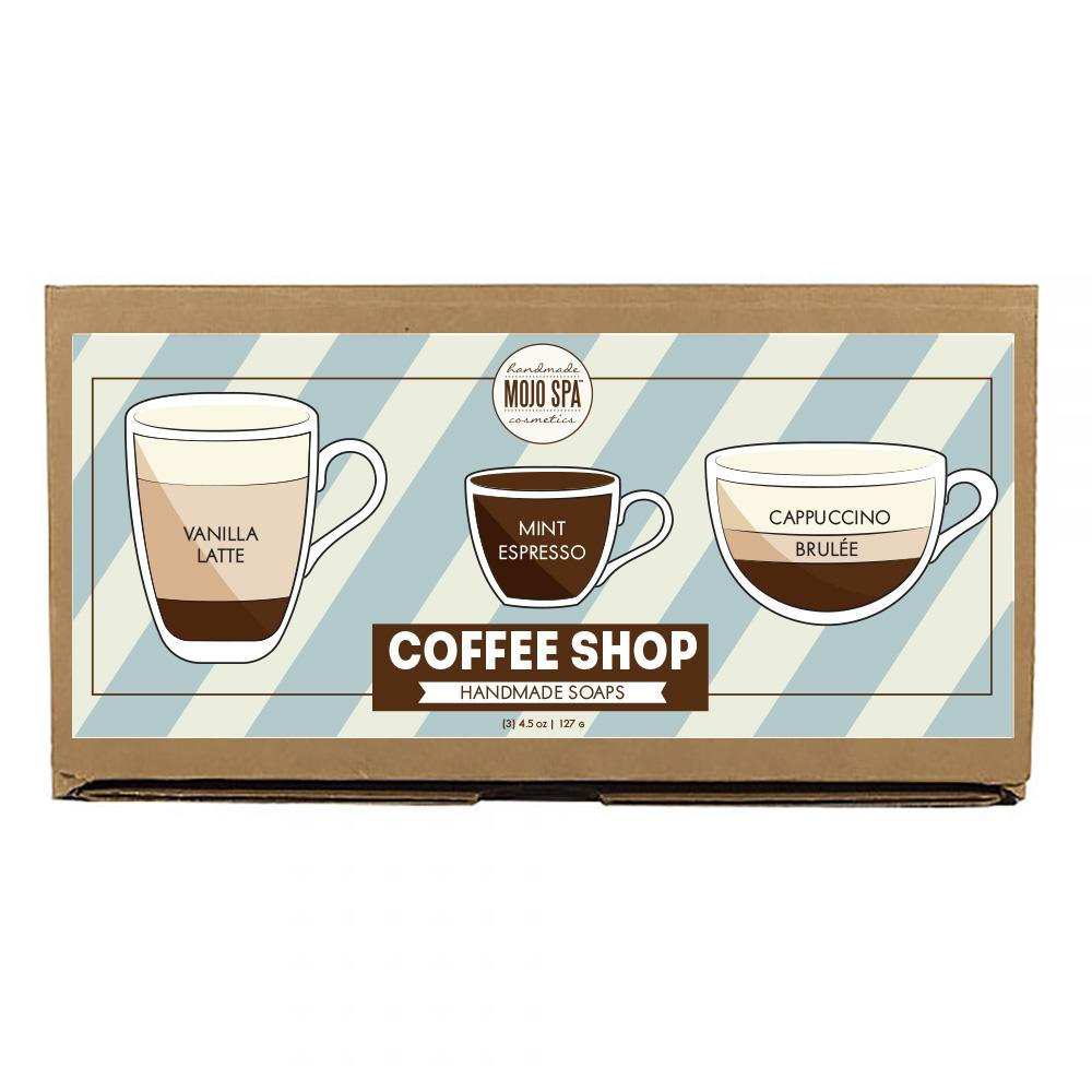 Coffee Shop Soap Set Product