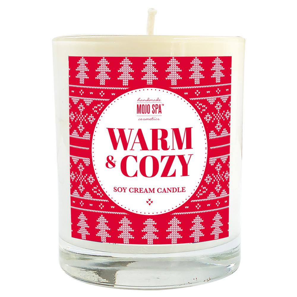 Warm and Cozy Soy Massage Candle Product