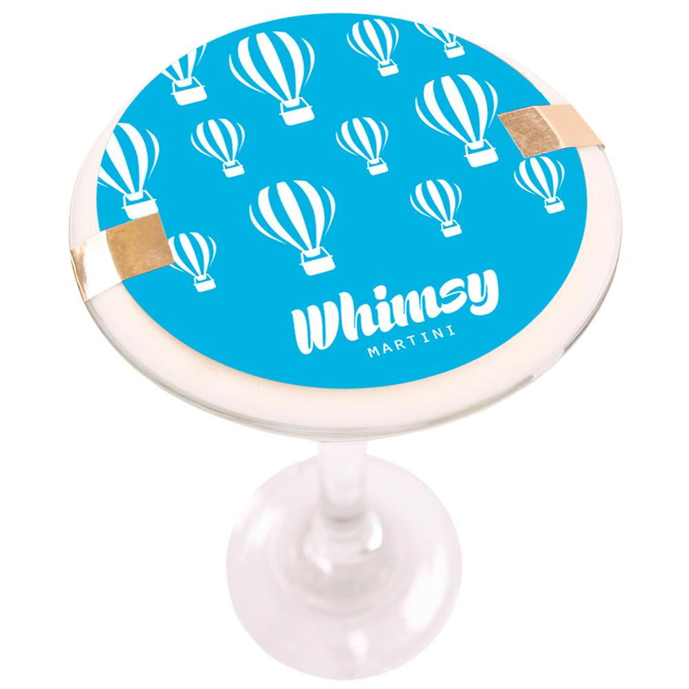 Whimsy Martini Soy Massage Candle Product