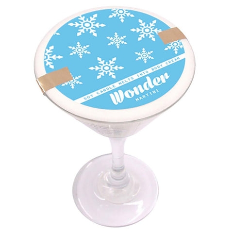 Wonder Martini Soy Massage Candle Product