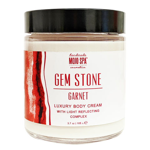 Garnet Gemstone Luxury Body Cream