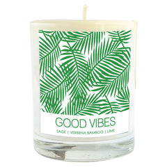 Good Vibes Soy Massage Candle