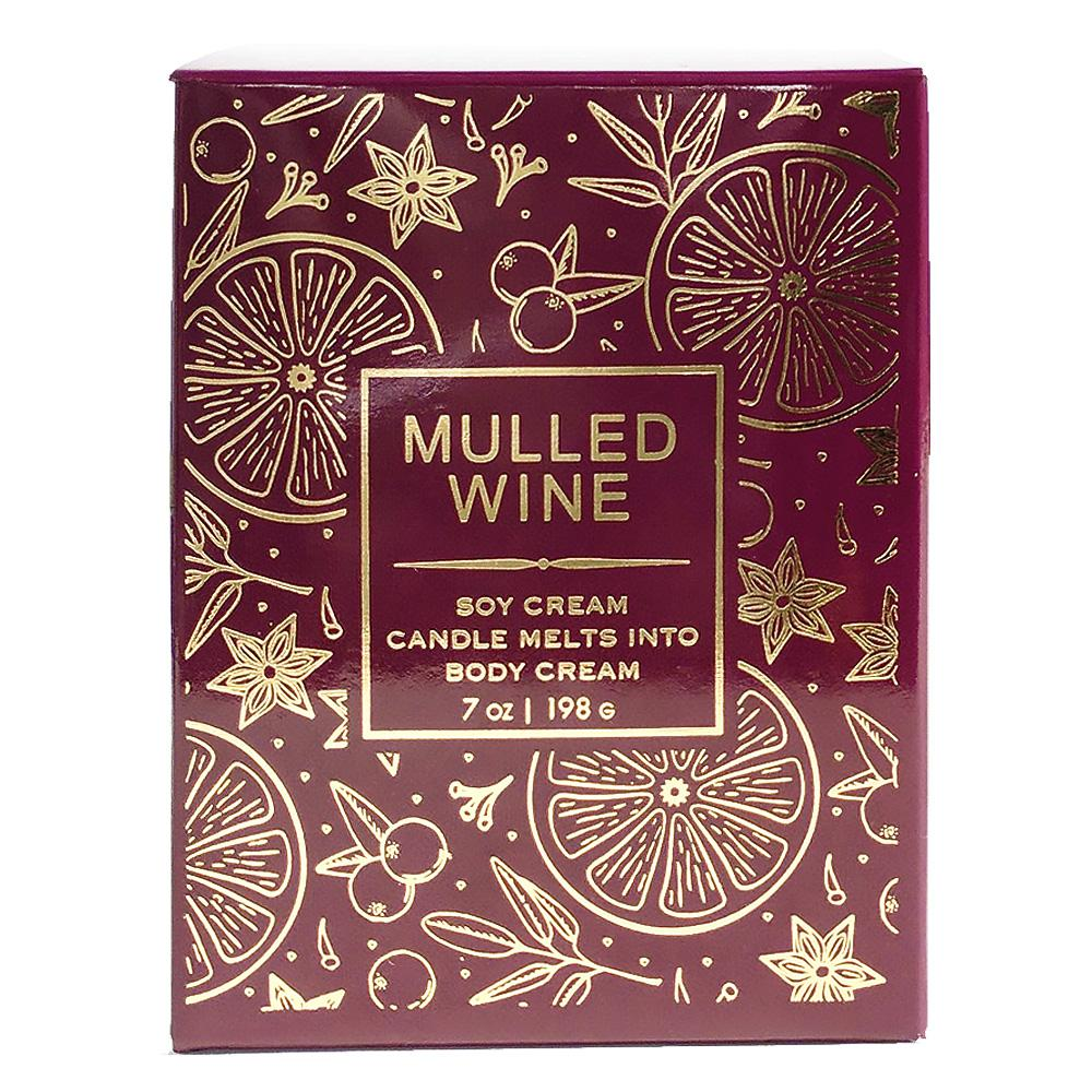 Mulled Wine Soy Massage Candle Product
