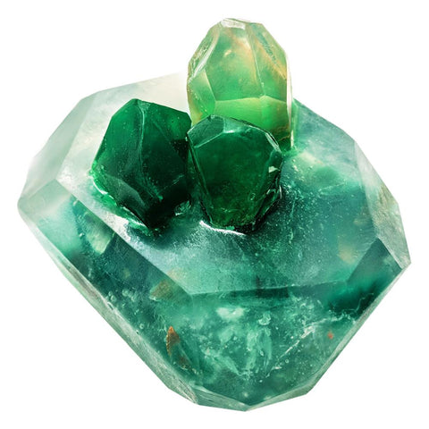 Emeralda Cluster Gemstone Soap Product