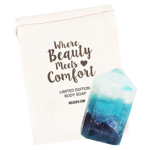 Blue Quartz Gemstone Soap Product