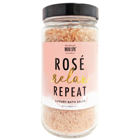 Rosé.Relax.Repeat. Luxury Bath Salts Product