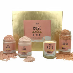 Rosé. Relax. Repeat. Luxury Gift Set