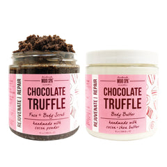 Chocolate Truffle Scrub & Body Butter Gift Set