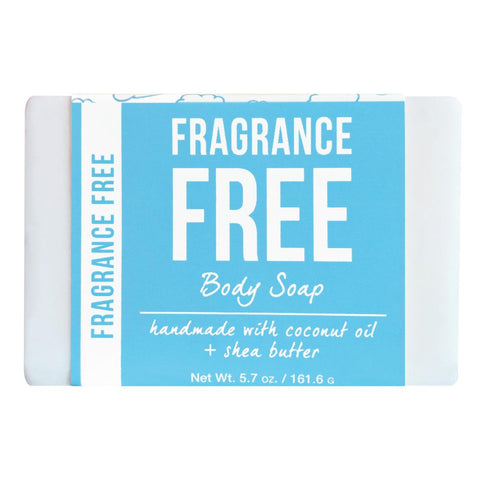 Fragrance Free Body Soap Product