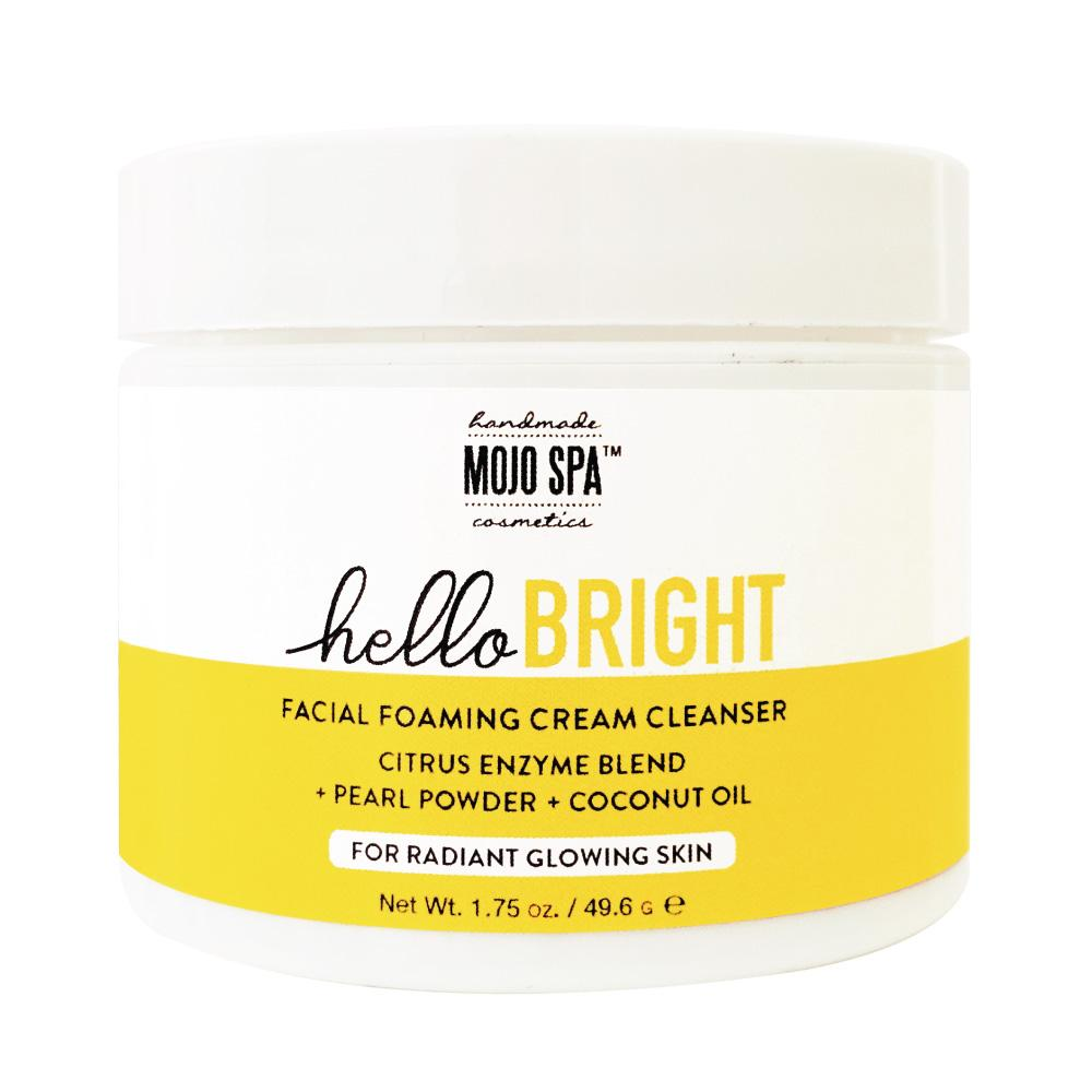 Hello Bright Facial Foaming Cream Cleanser Product