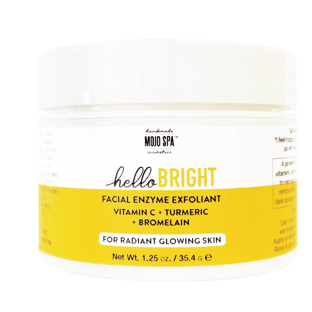 Hello Bright Facial Enzyme Exfoliant Product