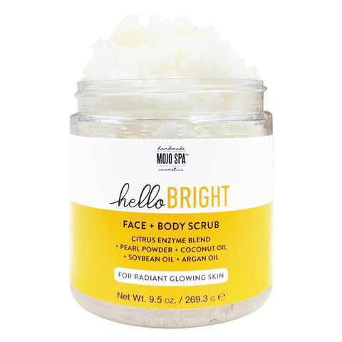 Hello Bright Face & Body Scrub Product