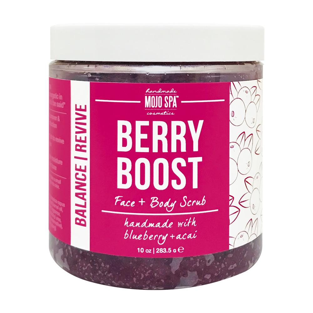 Berry Boost Face & Body Scrub Product