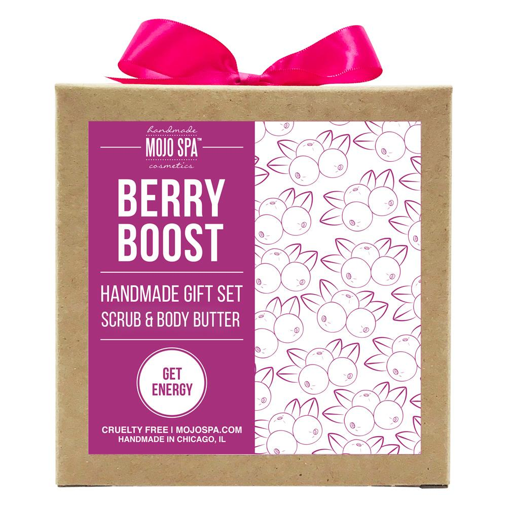 Berry Boost Scrub & Body Butter Gift Set Product
