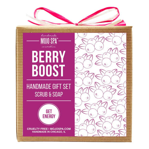 Berry Boost Scrub & Soap Gift Set Product