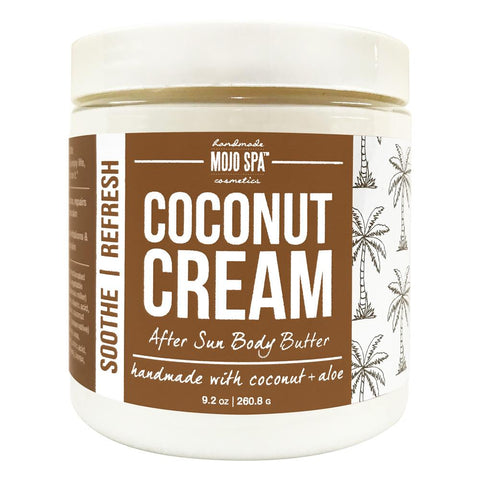 Coconut Cream After Sun Body Butter Product