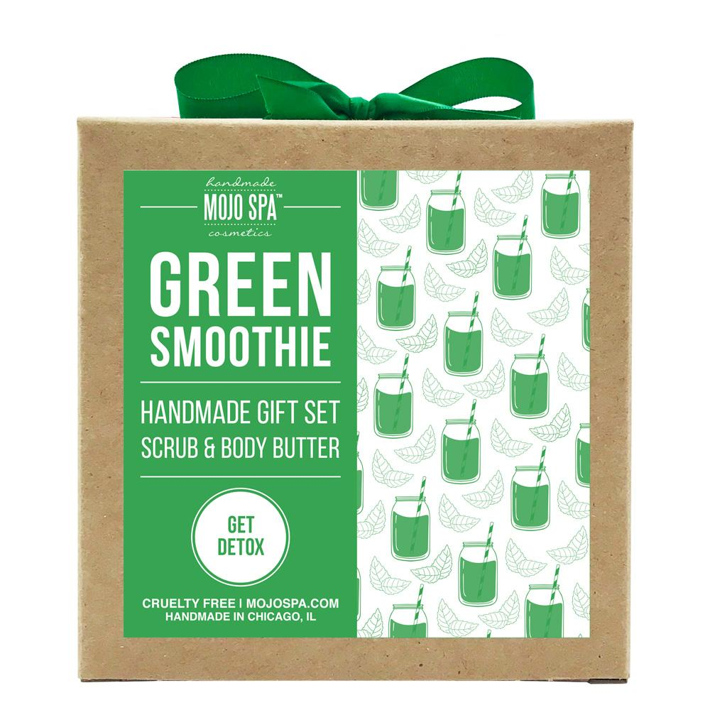 Green Smoothie Scrub & Body Butter Gift Set Product