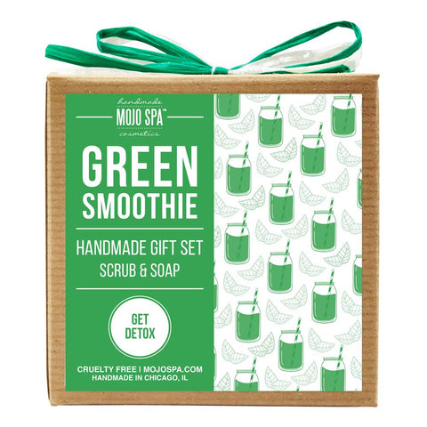 Green Smoothie Scrub & Soap Gift Set Product