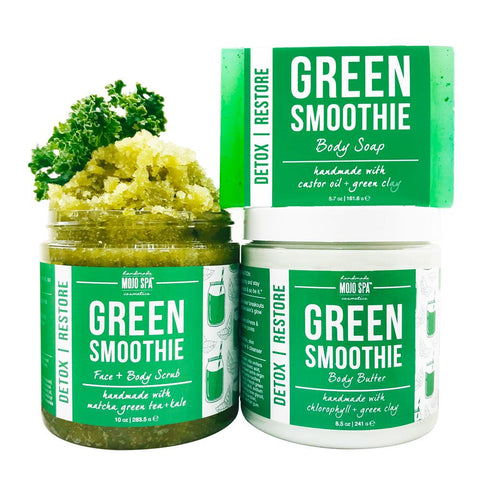 Green Smoothie Scrub, Body Butter & Soap Gift Set Product