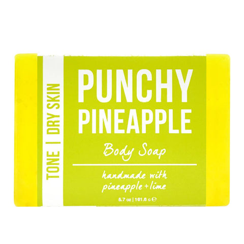 Punchy Pineapple Body Soap Product