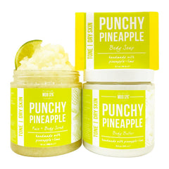 Punchy Pineapple Scrub, Body Butter & Soap Gift Set Product