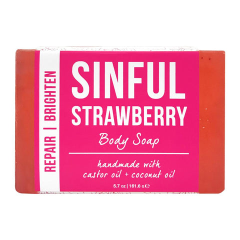 Sinful Strawberry Body Soap Product