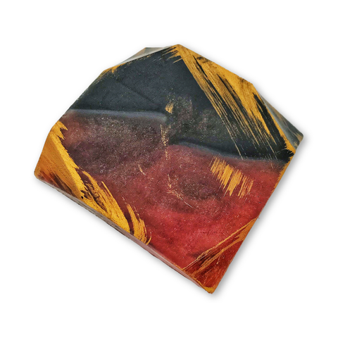 Ruby Hematite Gemstone Hand and Body Soap