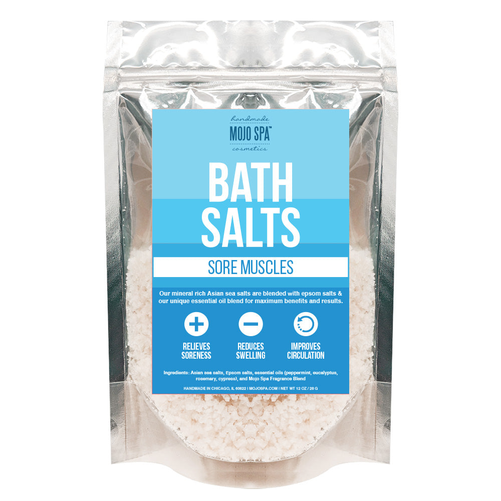 Sore Muscles Bath Salts