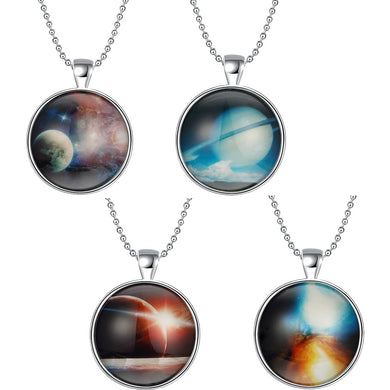 Interstellar Glow In The Dark Universe Pendant Always Free Shipping Please Allow 2 to 3 Weeks for Delivery