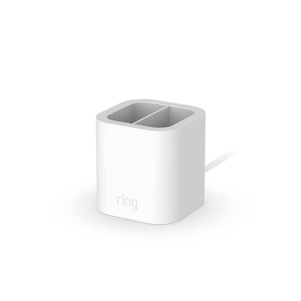 Charging Station (for Quick Release Battery Pack) - White