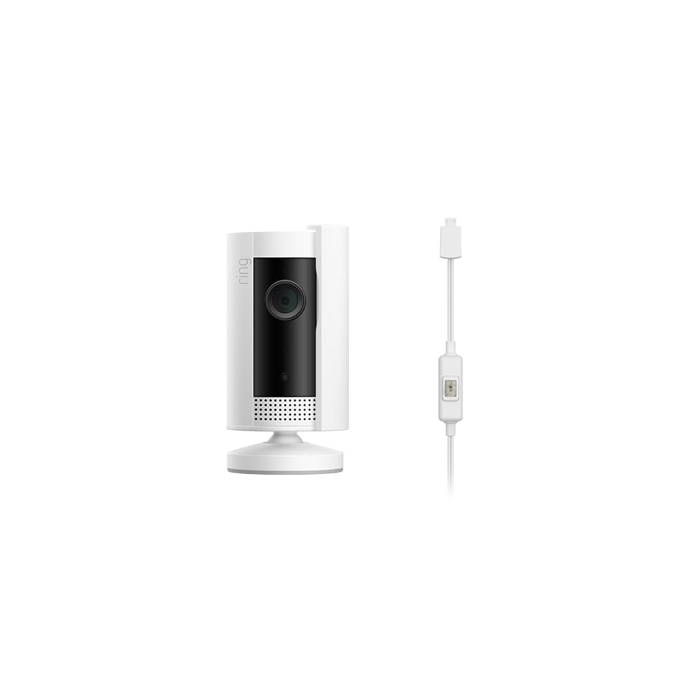 Privacy Kit (for Indoor Cam Cover and 6.5ft Power Adapter with On/Off Switch) - White