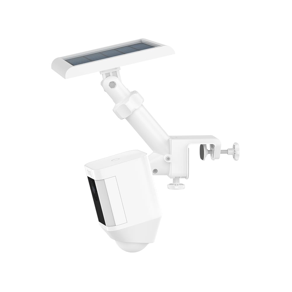 Gutter Mount (for Spotlight Cam Battery, Spotlight Cam Solar, Solar Panel, and Super Solar Panel) - White