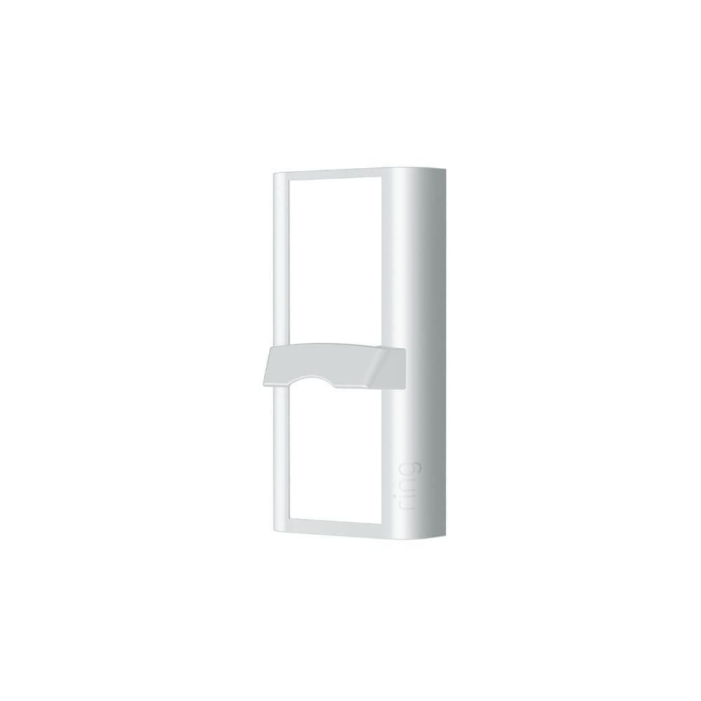 Package View Faceplate (for Peephole Cam) - White