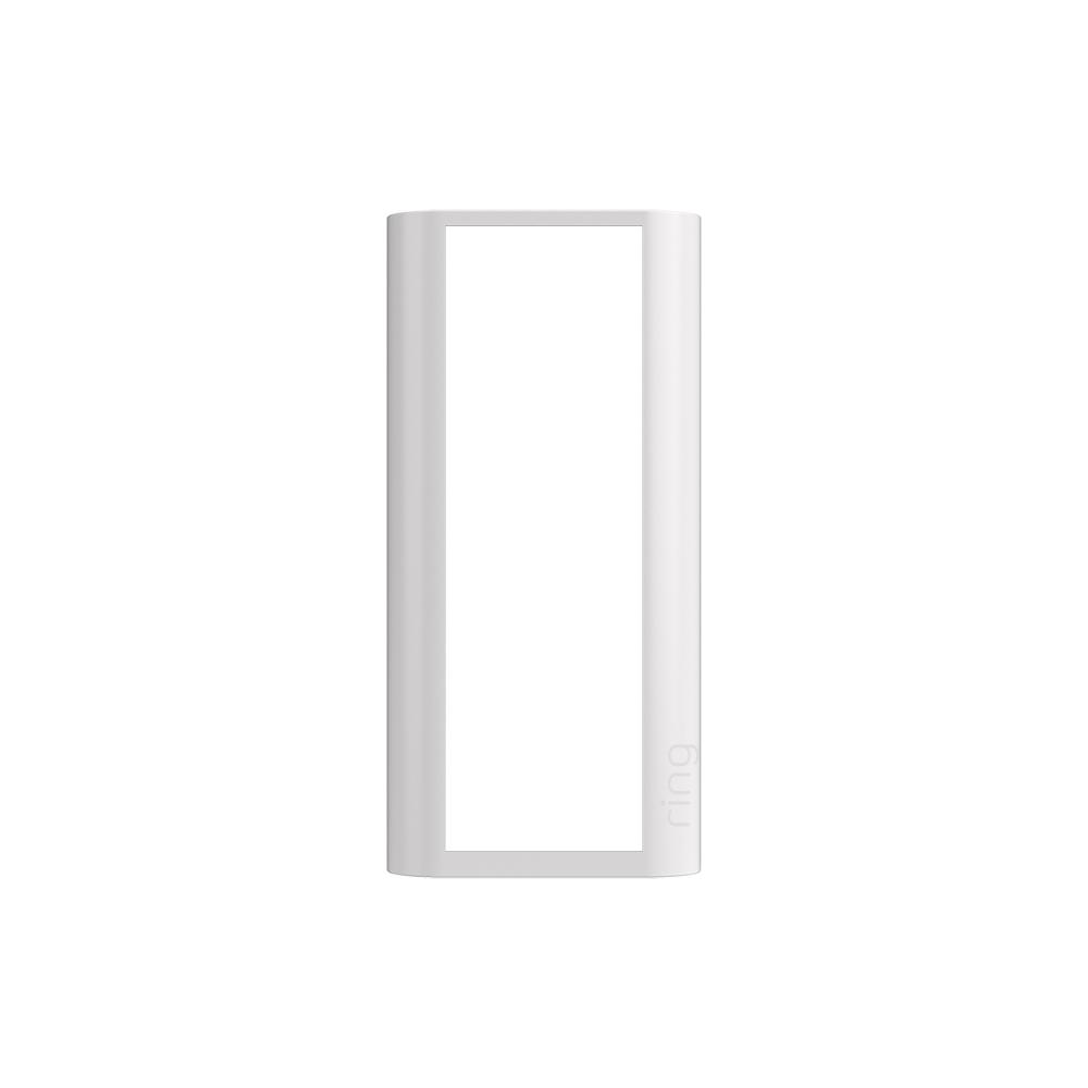 Interchangeable Faceplate (for Peephole Cam) - Pearl White