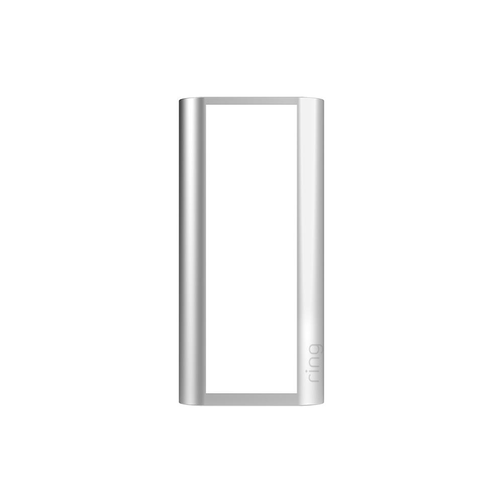 Interchangeable Faceplate (for Peephole Cam) - Silver Metal