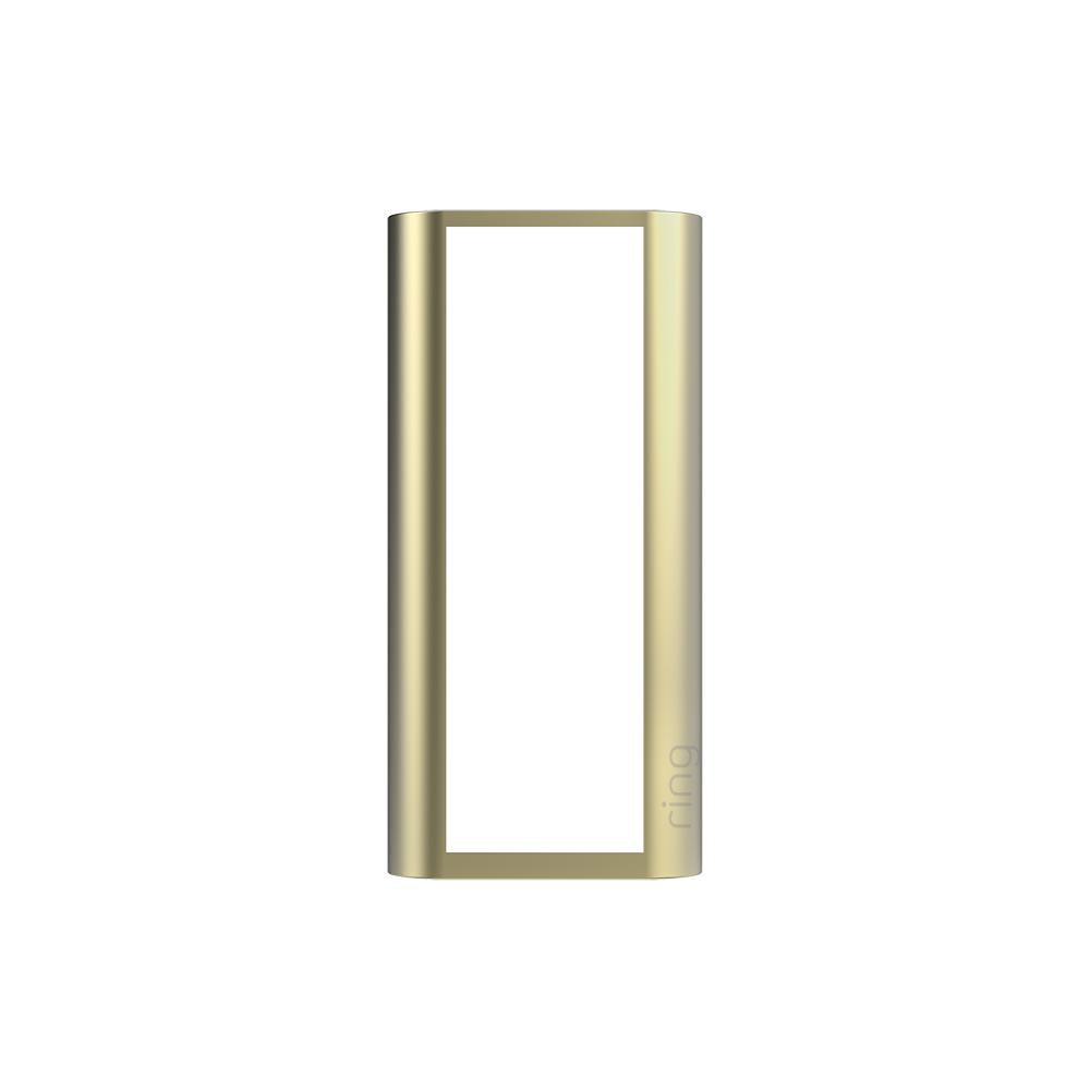 Interchangeable Faceplate (for Peephole Cam) - Gold Metal