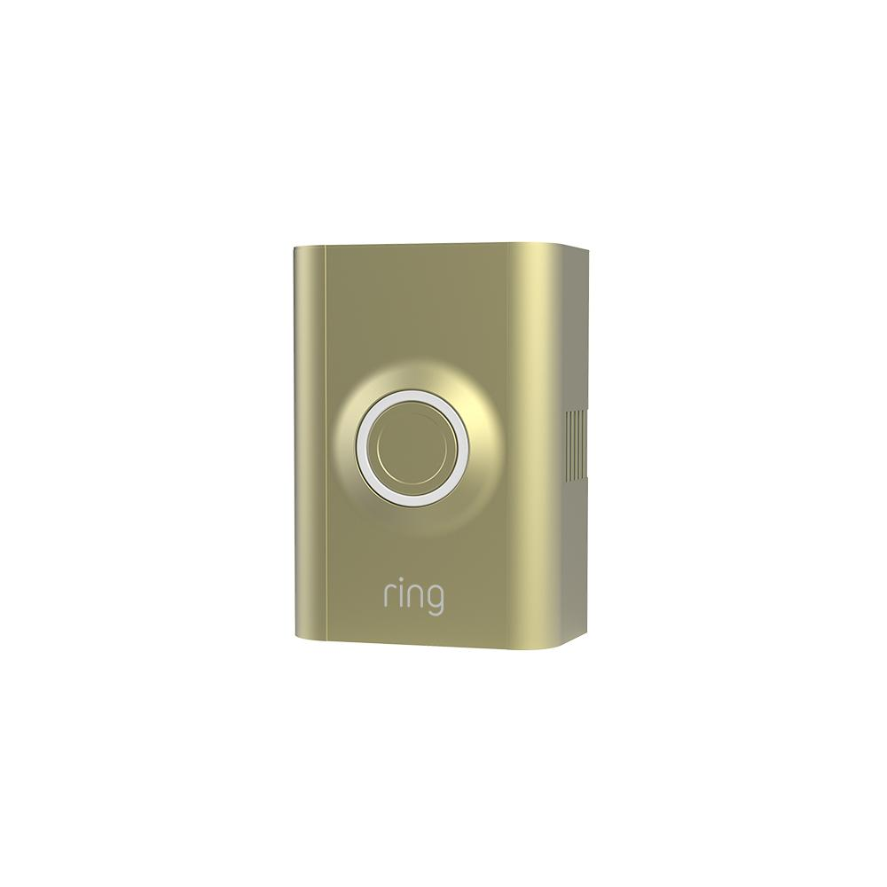 Interchangeable Faceplate (for Ring Video Doorbell 2) - Brushed Gold