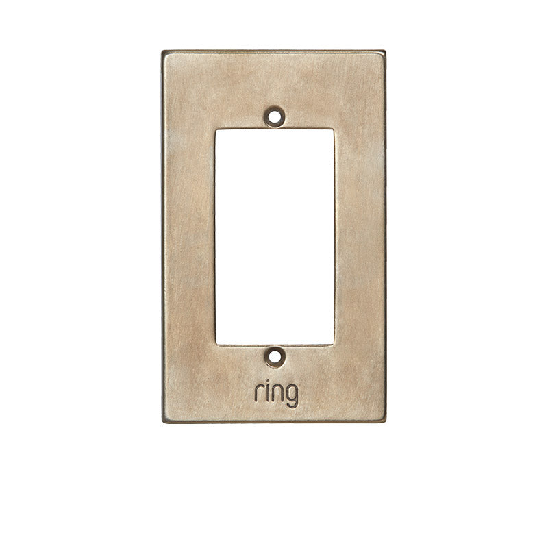 Ring Elite Faceplate - Silicon Bronze Brushed