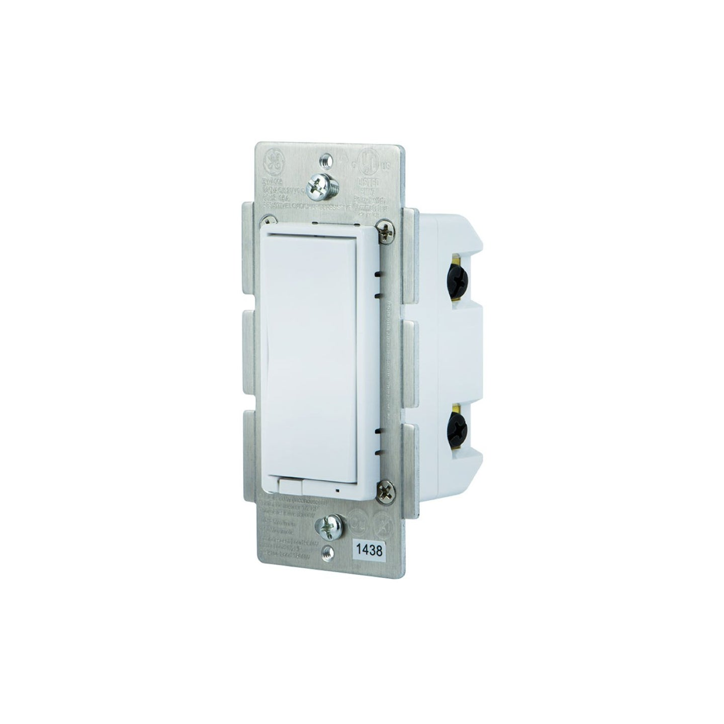 GE In-Wall Paddle Dimmer (for Works with Ring Alarm Security System)