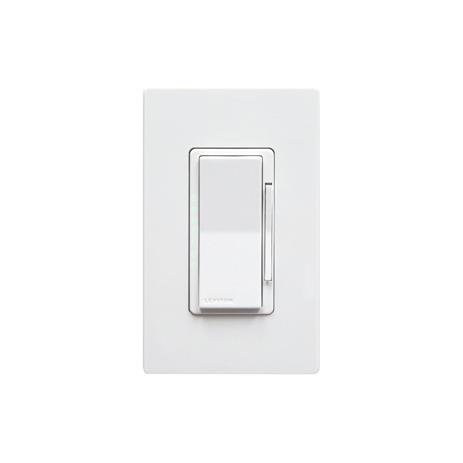 Leviton Decora Smart In-Wall Dimmer (for Works with Ring Alarm Security System) - White
