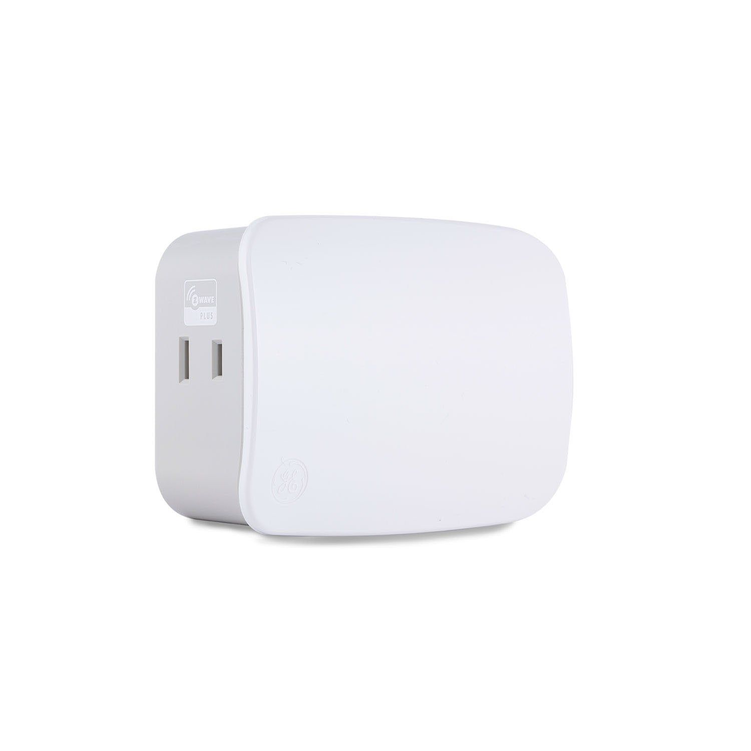 GE Plug-In Dimmer (Two Outlet) (for Works with Ring Alarm Security System) - White