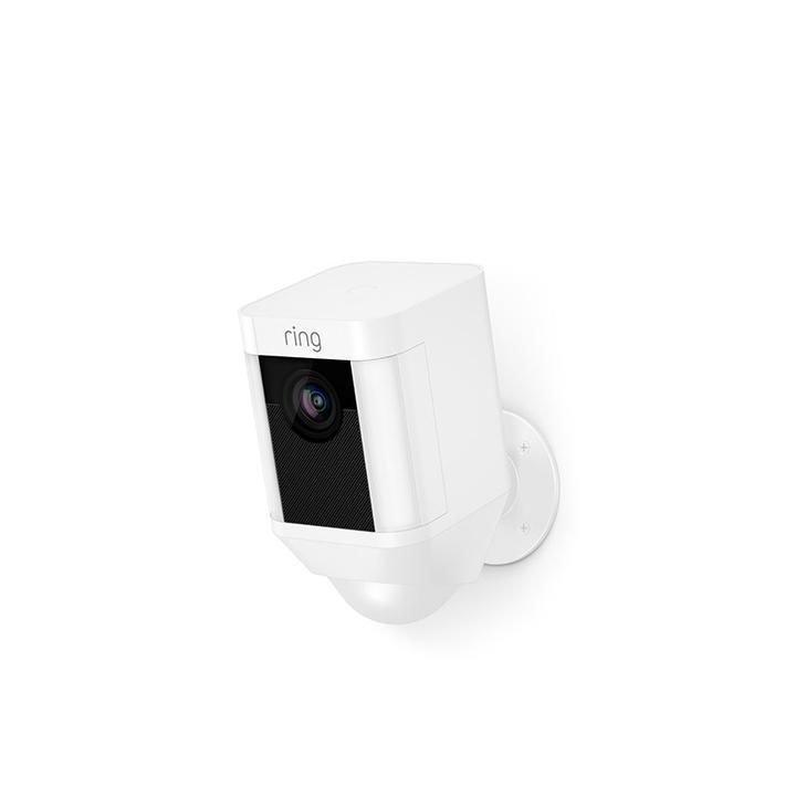 Ring Spotlight Indoor/Outdoor 1080p Wi-Fi Wireless Security Camera - White
