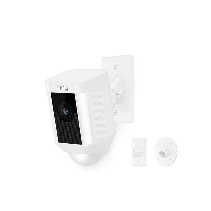 Spotlight Cam Mount - White
