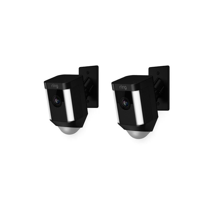2-Pack Spotlight Cam Mount - Black